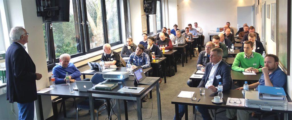 Ein Blick in die Teilnehmerrunde des BPP-Seminars am 25.1.2020 in Mülheim. Foto: Wilhelm van Loo